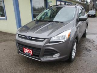 Used 2013 Ford Escape FOUR-WHEEL DRIVE SE MODEL 5 PASSENGER 2.0L - ECO-BOOST.. LEATHER.. HEATED SEATS.. NAVIGATION.. PANORAMIC SUNROOF.. BLUETOOTH SYSTEM.. for sale in Bradford, ON