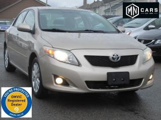 Used 2010 Toyota Corolla LE AT for sale in Ottawa, ON