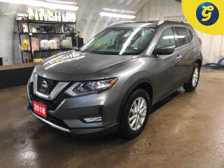 Used 2018 Nissan Rogue SV * AWD * Dual Pane sunroof * Remote start * Push button start * Sport/Normal/ECO mode * Nissan connect touchscreen * Back up camera * Blindspot assi for sale in Cambridge, ON