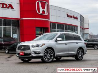 Used 2017 Infiniti QX60 Base-*NO ACCIDENTS|DVD PLAYER IN HEAD RESTS|NAVI* for sale in Milton, ON
