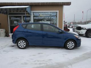 Used 2017 Hyundai Accent 5DR HB for sale in Prevost, QC