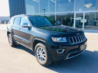 Used 2014 Jeep Grand Cherokee Limited, Sunroof, Leather for sale in Ingersoll, ON