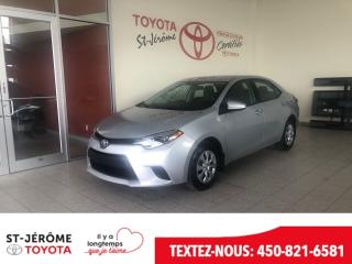 Used 2015 Toyota Corolla for sale in Mirabel, QC