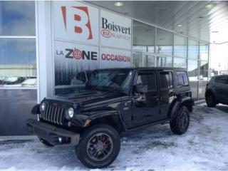 Used 2017 Jeep Wrangler Unltd Sahara édition for sale in Blainville, QC