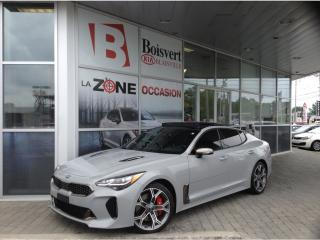 Used 2019 Kia Stinger GT Limited GPS/NAVI TWIN TURBO AWD for sale in Blainville, QC