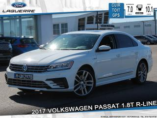 Used 2017 Volkswagen Passat 1.8t R-Line Cuir for sale in Victoriaville, QC