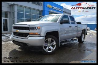 Used 2016 Chevrolet Silverado 1500 édition Custom + V6 for sale in Mont-Laurier, QC