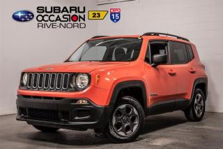 Used 2016 Jeep Renegade SPORT 4x4 for sale in Boisbriand, QC