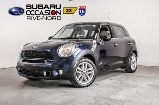 Used 2012 MINI Cooper Countryman S ALL4 for sale in Boisbriand, QC