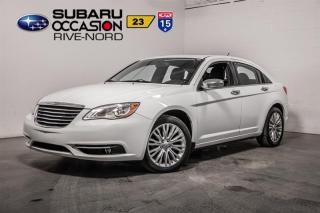 Used 2013 Chrysler 200 LTD CUIR+TOIT.OUVRAN for sale in Boisbriand, QC