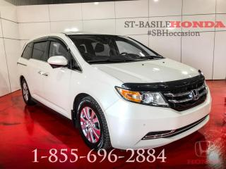 Used 2017 Honda Odyssey EXL-RES + DVD + 8 PASSAGERS + WOW ! for sale in St-Basile-le-Grand, QC