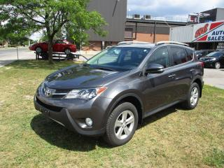 Used 2014 Toyota RAV4 XLE~NAV.~HEATED SEATS~SUNROOF~BACK-UP CAM.~ for sale in Toronto, ON