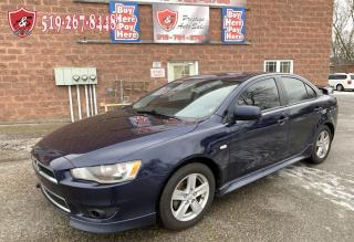 Used 2013 Mitsubishi Lancer ES Sport/ONE OWNER/NO ACCIDENT/CERTIFIED for sale in Cambridge, ON