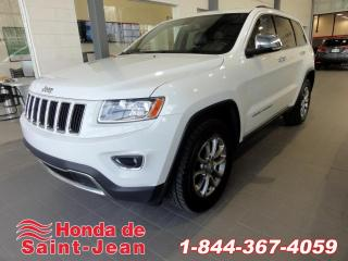 Used 2014 Jeep Grand Cherokee 4X4  Limited Toit Mags Cuir for sale in St-Jean-Sur-Richelieu, QC
