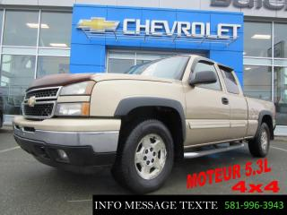 Used 2006 Chevrolet Silverado 1500 AWD for sale in Ste-Marie, QC