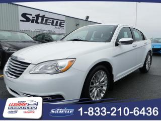 Used 2012 Chrysler 200 VERSION LIMITED, JAMAIS ACCIDENTE! for sale in St-Georges, QC