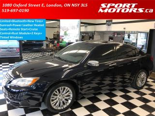 Used 2012 Chrysler 200 Limited+Sunroof+Heated Seats+New Tires+Remote Star for sale in London, ON