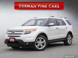 Used 2013 Ford Explorer *** 2013 FORD EXPLORER LIMITED *** 7 SEATER | NAVI for sale in Bolton, ON
