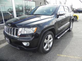 Used 2012 Jeep Grand Cherokee Overland for sale in Windsor, ON