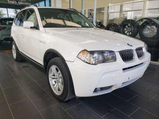 Used 2006 BMW X3 3.0I, HEATED SEATS, SUNROOF, A/C for sale in Edmonton, AB