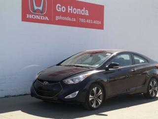 Used 2013 Hyundai Elantra Coupe GT, COUPE, AUTO, LEATHER for sale in Edmonton, AB