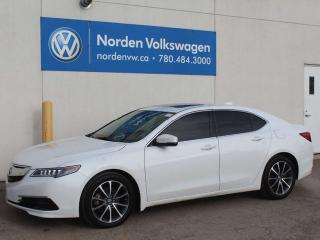 Used 2015 Acura TLX V6 TECH SH-AWD - NAVI / LEATHER / LANE DEPARTURE for sale in Edmonton, AB