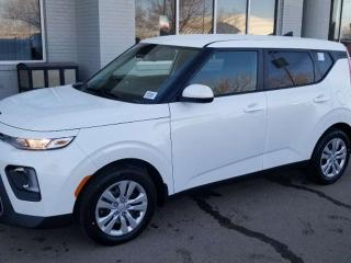 New 2020 Kia Soul LX; ADVANCED SAFTEY, BLUETOOTH, BACKUP CAM, AND MORE for sale in Edmonton, AB