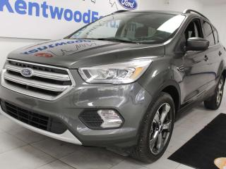 Used 2017 Ford Escape SE 4WD ecoboost with NAV, sunroof, heated seats and back up cam for sale in Edmonton, AB