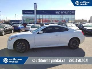 Used 2013 Infiniti G37 Coupe G37X SPORT AWD/LEATHER/SUNROOF for sale in Edmonton, AB