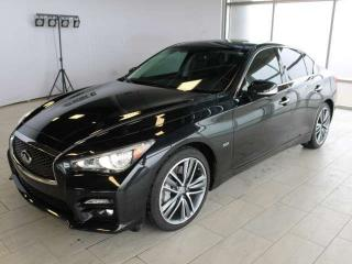 Used 2017 Infiniti Q50 3.0t/Sport/Driver Assistant Package for sale in Edmonton, AB