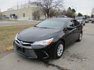 Used 2017 Toyota Camry LE~HYBRID~BACK-UP CAM.~POWER OPTIONS~CERTIFIED for sale in Toronto, ON