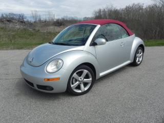 Used 2009 Volkswagen New Beetle CONVERTIBLE- HIGHLINE- BLUSH EDITION for sale in Brantford, ON