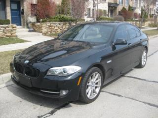Used 2011 BMW 5 Series 550i, LOW KMS, NO ACCIDENTS, NEW TIRES, NAVI, LEAT for sale in Toronto, ON
