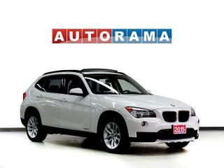 Used 2015 BMW X1 LEATHER SUNROOF AWD for sale in Toronto, ON