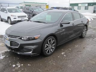 Used 2017 Chevrolet Malibu LT True North Edition for sale in Thunder Bay, ON