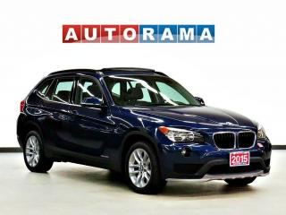 Used 2015 BMW X1 AWD NAVIGATION LEATHER BACK UP CAMERA SUNROOF for sale in Toronto, ON