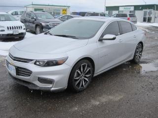 Used 2017 Chevrolet Malibu LT for sale in Thunder Bay, ON