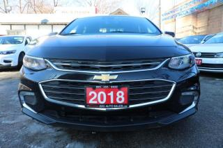 Used 2018 Chevrolet Malibu LT ACCIDENT FREE for sale in Brampton, ON