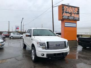 Used 2014 Ford F-150 PLATINUM**ONLY 84KMS**LEATHER**CAM**NAVI**4X4** for sale in London, ON