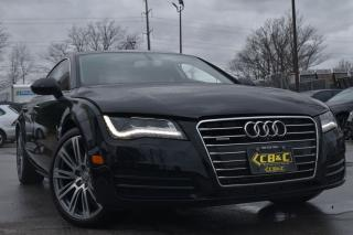 Used 2014 Audi A7 3.0L TDI Technik-ONLY31KM-LOADED-ONEOWNER-NOACCID for sale in Oakville, ON