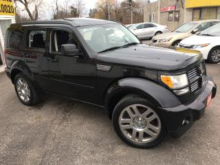 Used 2008 Dodge Nitro R/T/ 4X4/ LEATHER/ SUNROOF/ ALLOYS & MUCH MORE! for sale in Scarborough, ON