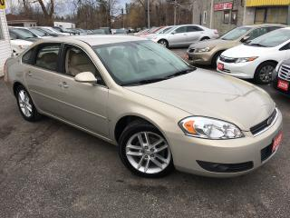 Used 2008 Chevrolet Impala LTZ/ LEATHER/ PWR GROUP/ ALLOYS & MORE! for sale in Scarborough, ON