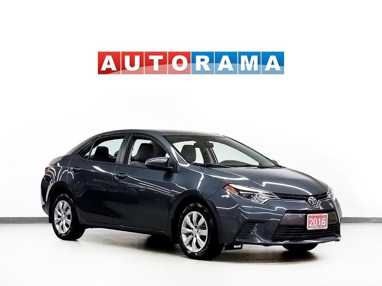 2016 Toyota Corolla LE FWD BLUETOOTH