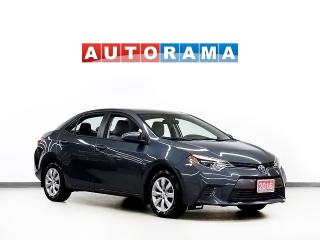 Used 2016 Toyota Corolla LE FWD BLUETOOTH for sale in Toronto, ON