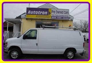 Used 2010 Ford E-150 1/2 Ton Cargo Van, Roof Rack, A/C for sale in Woodbridge, ON