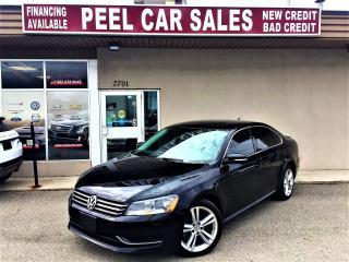 Used 2014 Volkswagen Passat PASSAT|NAVI|LEATHER|ALLOYS|REARVIEW for sale in Mississauga, ON