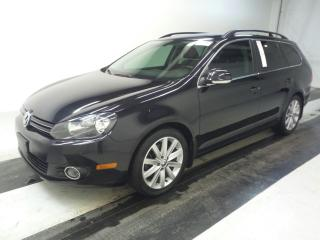 Used 2012 Volkswagen Golf Wagon HIGHLINE-4 CYLINDER- CLEAN CARPROOF - CANADIAN CAR for sale in Oakville, ON