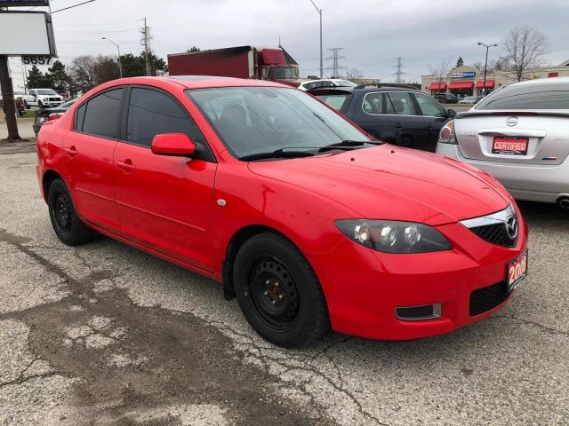 2008 Mazda MAZDA3 I-Sport, LOW KMS, Warranty, Certified