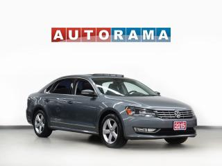 Used 2015 Volkswagen Passat TDI LEATHER SUNROOF BACKUP CAMERA for sale in Toronto, ON