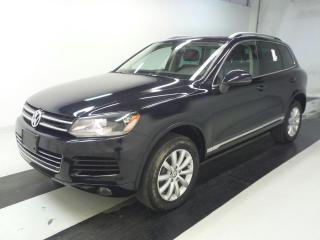 Used 2011 Volkswagen Touareg CANADIAN CAR - HIGHLINE - BLACK ON BROWN COMBO!!! for sale in Oakville, ON